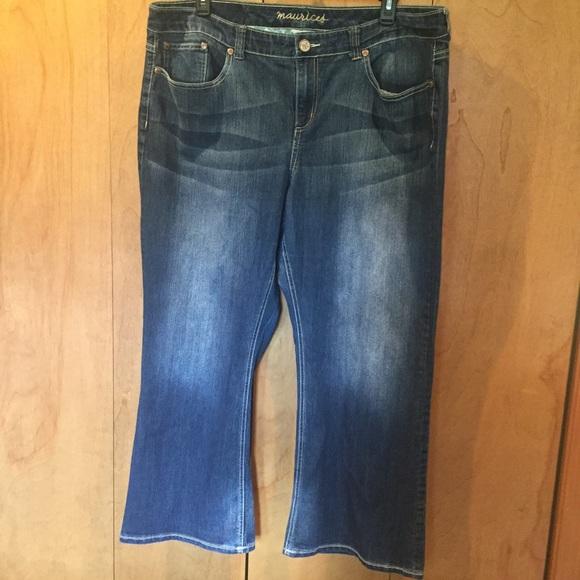 Maurices Denim - 24S Maurice's med wash flare leg jeans